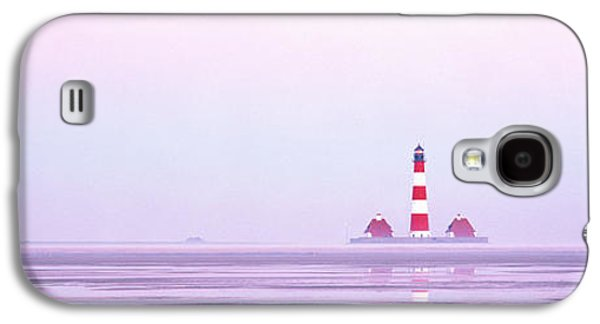 Lighthouse Westerhever North Sea Germany Galaxy S4 Case by Panoramic Images