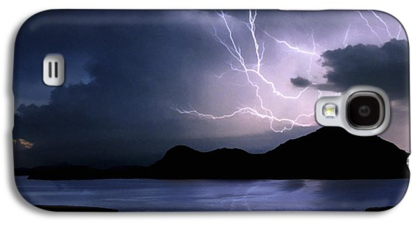 Lightning Over Quartz Mountains - Oklahoma Galaxy S4 Case