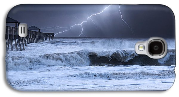 Lightning Strike Galaxy S4 Case by Laura Fasulo