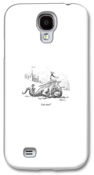 Dragon Galaxy S4 Case - Like That? by Liam Walsh