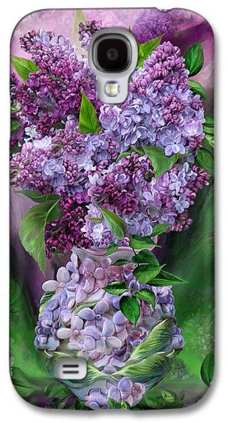 Lilacs In Lilac Vase Galaxy S4 Case