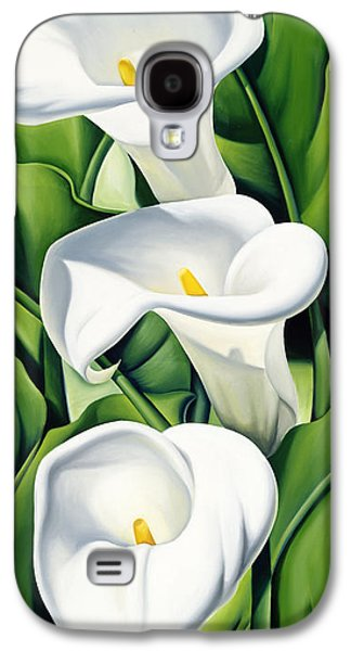 Lily Galaxy S4 Case - Lilies by Catherine Abel