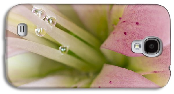 Lily And Raindrops Galaxy S4 Case by Melanie Viola