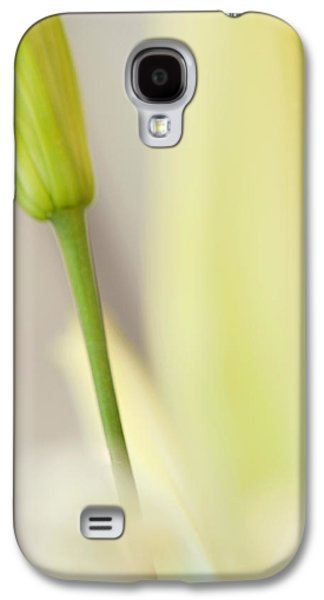 Lily Delight. Floral Abstract Galaxy S4 Case by Jenny Rainbow