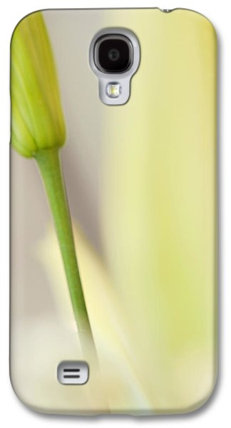 Lily Delight. Floral Abstract Galaxy S4 Case