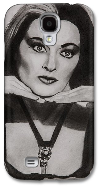 Lily Munster Galaxy S4 Case by Brian Broadway