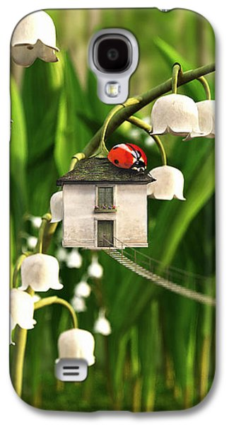 Lily Of The Valley Galaxy S4 Case by Cynthia Decker