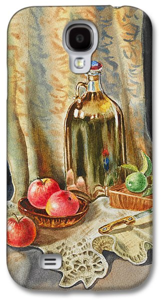 Lime And Apples Still Life Galaxy S4 Case