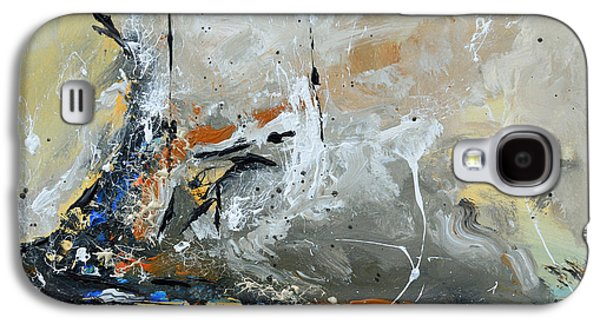 Limitless 1 - Abstract Painting Galaxy S4 Case by Ismeta Gruenwald