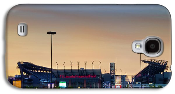 Lincoln Financial Field In A New Light Galaxy S4 Case by Bill Cannon