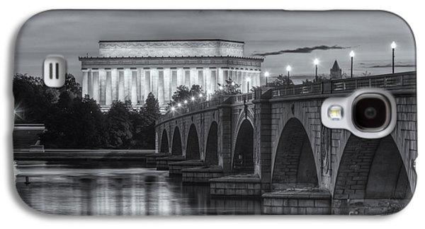 Lincoln Memorial And Arlington Memorial Bridge At Dawn II Galaxy S4 Case