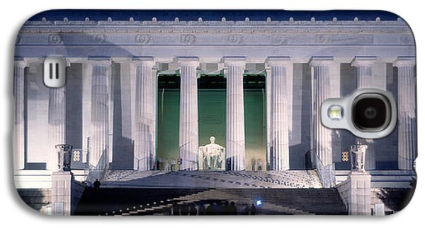 Lincoln Memorial At Dusk, Washington Galaxy S4 Case by Panoramic Images