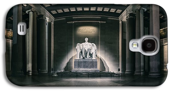 Lincoln Memorial Galaxy S4 Case by Eduard Moldoveanu