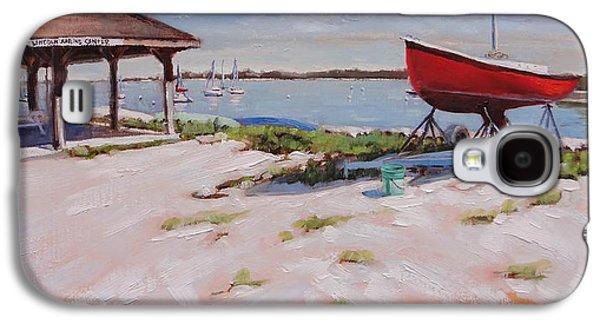 Lincoln Sailing Center Galaxy S4 Case by Laura Lee Zanghetti
