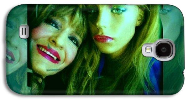 Linda And Holly Galaxy S4 Case by HollyWood Creation By linda zanini