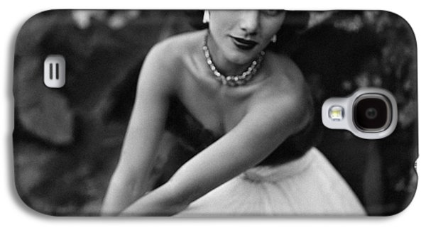Linda Christian Wearing A Ball Gown Galaxy S4 Case by Clifford Coffin