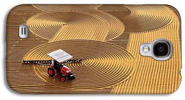 Rural Scenes Galaxy S4 Case - Lines by Nese Ari