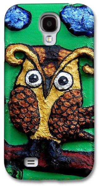 Lint Owl Detail Galaxy S4 Case