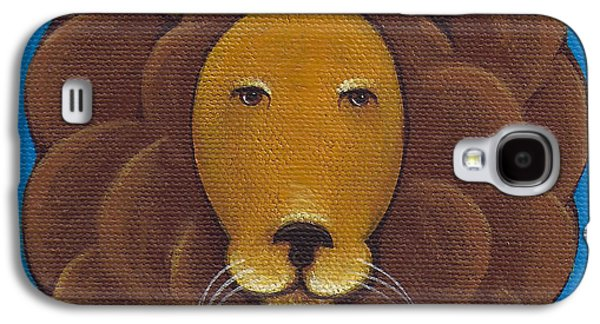 Lion Galaxy S4 Case by Christy Beckwith