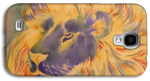 Lion Of Another Color Galaxy S4 Case by Summer Celeste