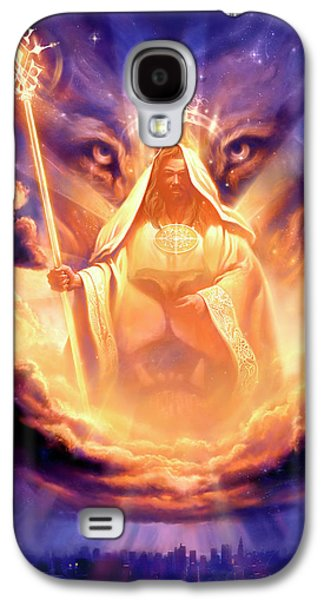 Lion Of Judah Galaxy S4 Case by Jeff Haynie