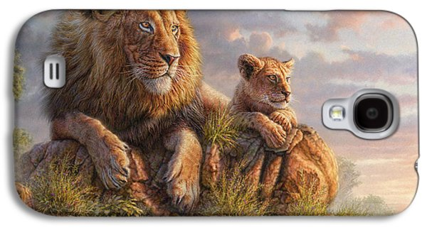 Lion Pride Galaxy S4 Case by Phil Jaeger