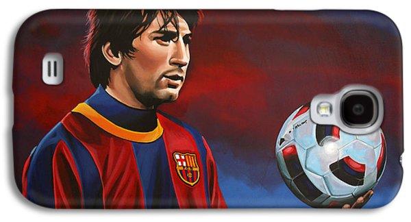 Lionel Messi 2 Galaxy S4 Case by Paul Meijering