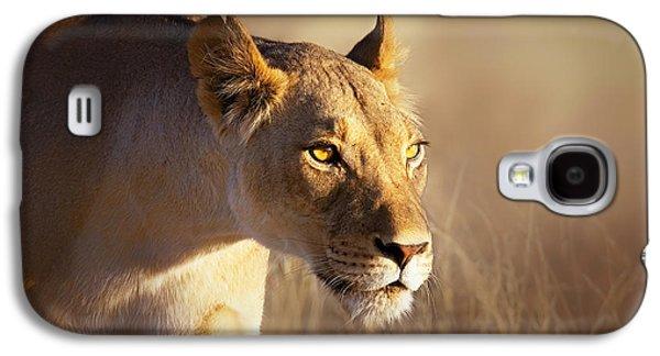 Lioness Portrait-1 Galaxy S4 Case