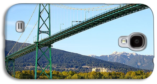 Lions Gate Bridge Galaxy S4 Case by Charline Xia