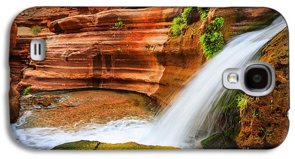 Little Deer Creek Fall Galaxy S4 Case by Inge Johnsson