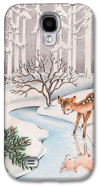 Little Deer Galaxy S4 Case