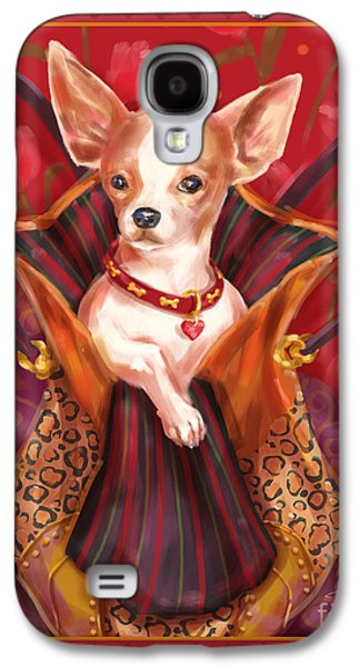 Little Dogs- Chihuahua Galaxy S4 Case by Shari Warren