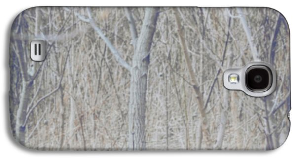 Little Fox In The Woods 2 Galaxy S4 Case by Carrie Ann Grippo-Pike