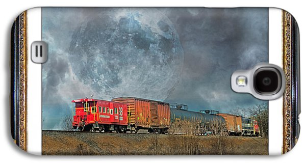 Little Red Caboose  Galaxy S4 Case