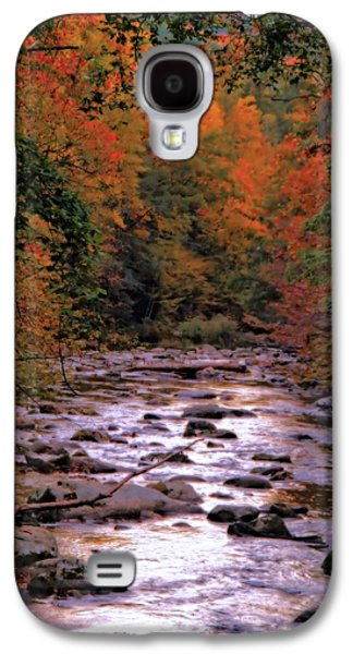 Little River In Autumn Galaxy S4 Case by Dan Sproul