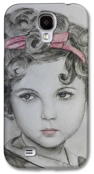 Little Shirley Temple Galaxy S4 Case by Kelly Mills