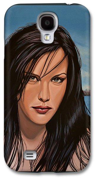 Liv Tyler Galaxy S4 Case by Paul Meijering