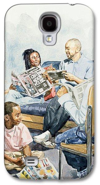 Living Room Serenades Galaxy S4 Case by Colin Bootman