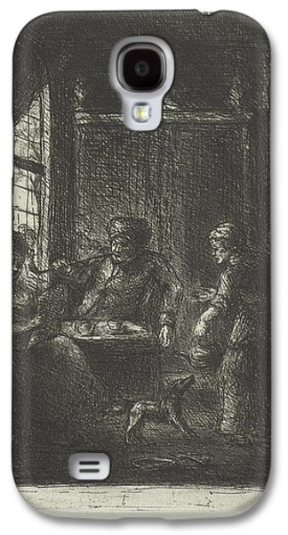 Living With Couple, Jan Chalon Galaxy S4 Case