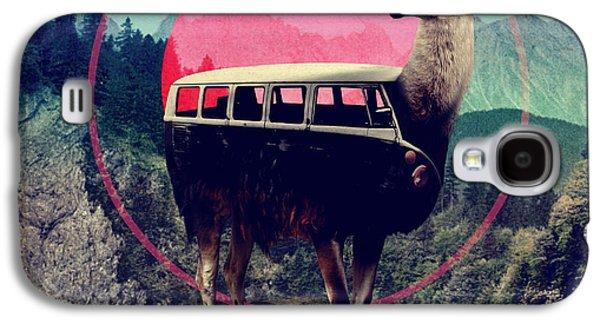 Llama Galaxy S4 Case - Llama by Ali Gulec
