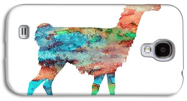 Llama Galaxy S4 Case - Llama by Watercolor Girl