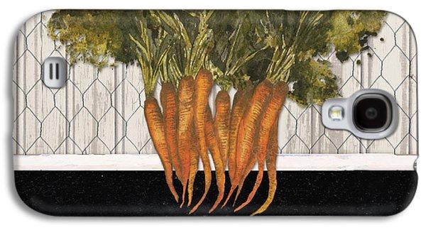 Carrot Galaxy S4 Case - Local Grown I by Elizabeth Medley