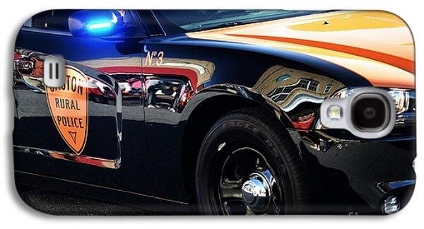 Local Police Cruiser Galaxy S4 Case by JW Hanley