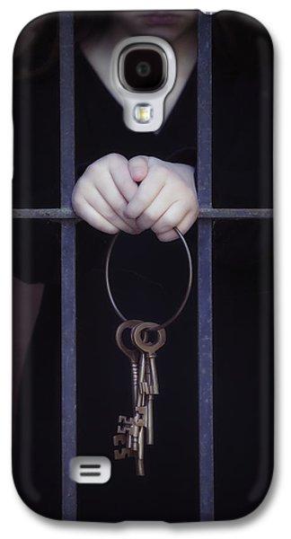 Locked-in Galaxy S4 Case by Joana Kruse