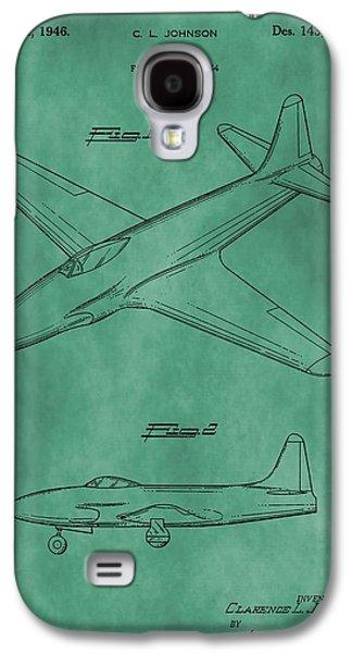 Lockheed P-80 Patent Green Galaxy S4 Case