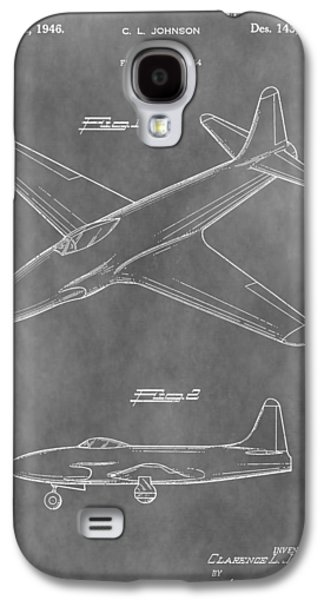 Lockheed P-80 Shooting Star Galaxy S4 Case by Dan Sproul
