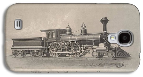 Locomotive Engines Galaxy S4 Case by MotionAge Designs