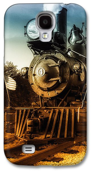 Locomotive Number 4 Galaxy S4 Case