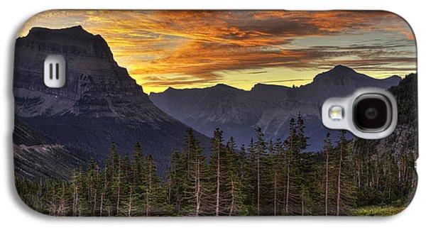 Logan Pass Sunrise Galaxy S4 Case