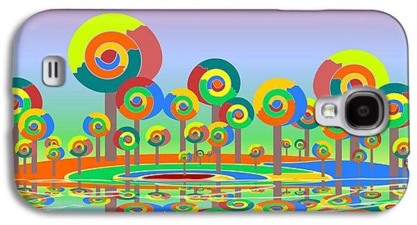Lollypop Island Galaxy S4 Case by Anastasiya Malakhova